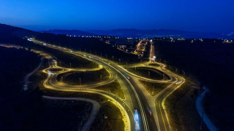 כביש 65 - צומת גולני