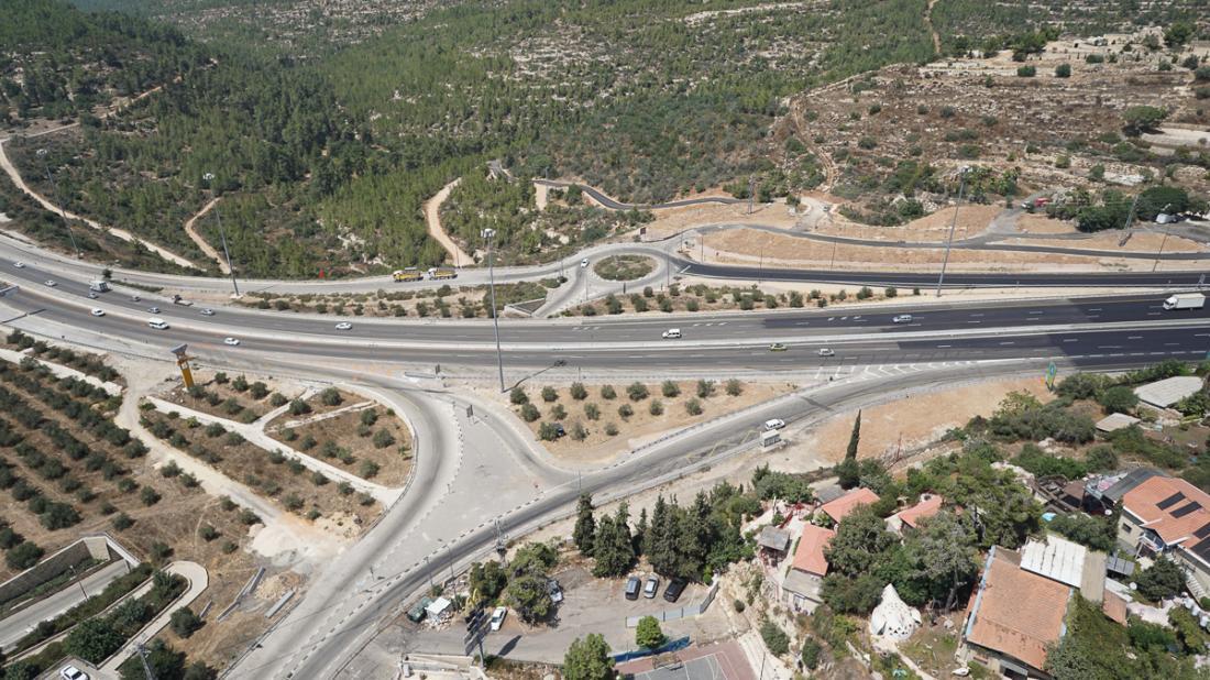 כביש 65, צומת גולני